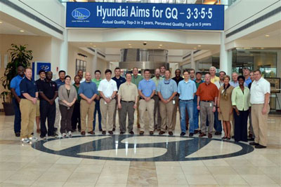Exceptional The AEE Central Alabama Chapter In The Hyundai Manufacturing Plant In  Montgomery, ...
